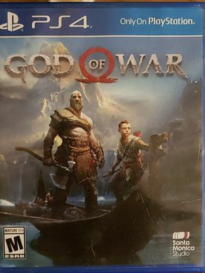 God of war PS4 for Sale in Lewisburg, PA