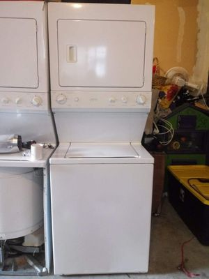 G.E. Stack Washer and Dryer Set/90 day guarantee for Sale in Lacey, WA