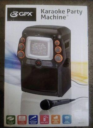 GPX KARAOKE MACHINE NEW for Sale in Schaumburg, IL