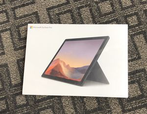 "Brandnew Microsoft Surface Pro 7 12.3"" (10th gen intel core i7) for Sale in New York, NY"