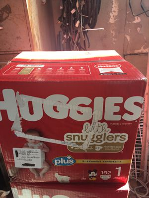 HUGGIES SIZE 1 192 pañales for Sale in Lynwood, CA