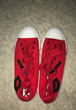 Red converse for Sale in Tampa, FL