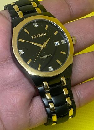 Men's Elgin watch with original box and tags for Sale in Brooklyn, NY