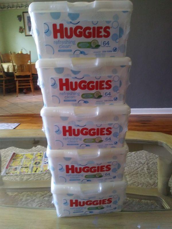 Huggies refreshing clean