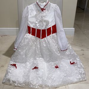 Mary Poppins Girls Costume (size 9/10) for Sale in Hialeah, FL