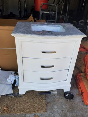 "30"" marble vanity for Sale in New Franklin, OH"
