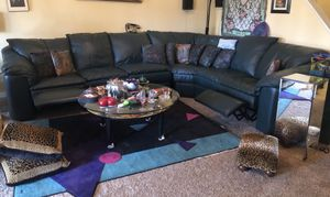 L-shaped sofa set with two recliners for Sale in Germantown, MD