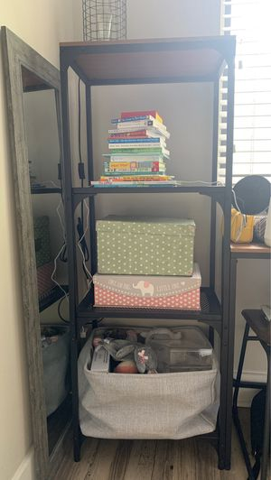 Industrial style tall shelf/book shelf for Sale in Plantation, FL