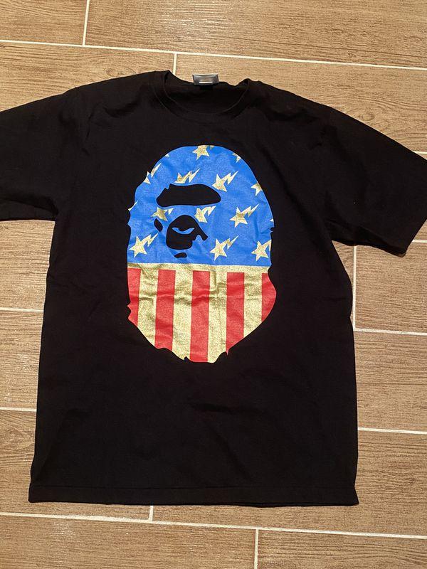 Bape t shirt size medium