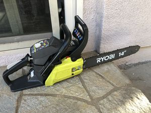 "Ryobi gas chainsaw 14"" excellent condition for Sale in San Diego, CA"