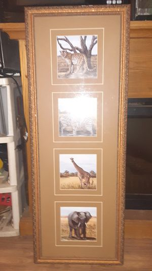 ANIMAL PICTURE TALL for Sale in Vance, AL