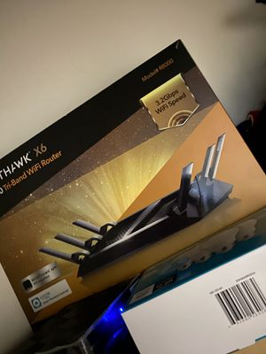 Nighthawk x6 ac3200. Router for Sale in Roselle, NJ