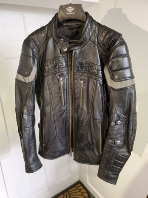 Motorcycle 3in1 Leather Jacket - Harley Davidson - Black Small for Sale in Brooklyn, NY