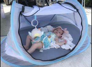 Baby Tent 0-12 Month, Germ Resistant, SPF 50 Indoor and Outdoor Tent for Sale in Hilliard, OH