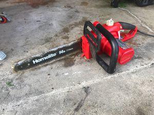 """Chainsaw 14"""" Homelite for Sale in Park Ridge, IL"""