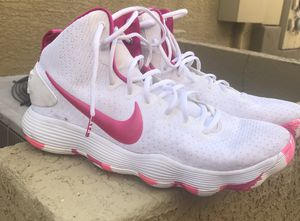 Nike Hyperdunk 2017 'Kay Yow' Pink/white basketball shoes for Sale in Phoenix, AZ