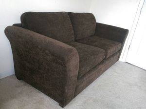 Chocolate Couch for Sale in Ashburn, VA