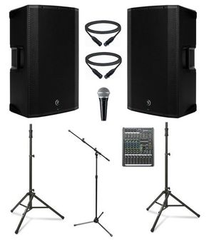 Complete DJ, event, speaker/light system for Sale in Puyallup, WA