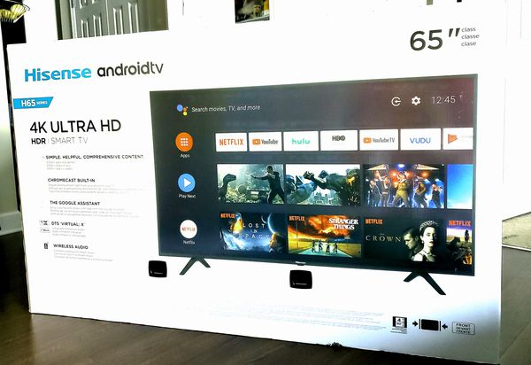 "65"" Hisense Android Smart TV"