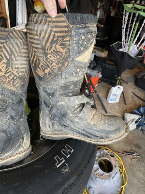 Atv dirt bike boots for Sale in St. Peters, MO