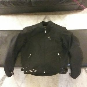 Armored waterproof motorcycle riding jacket size small for Sale in Dallas, TX