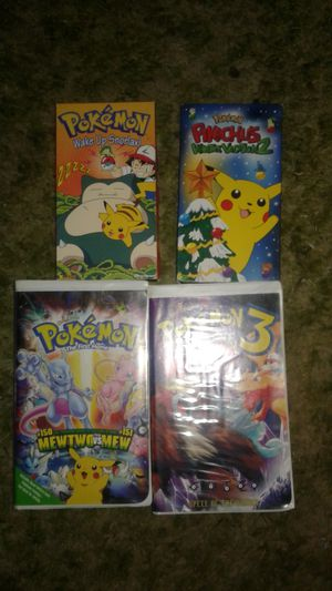 Pokemon collectible VHS movies for Sale in Fresno, CA