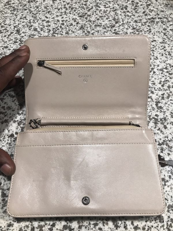 Chanel boy bag wallet with Chain