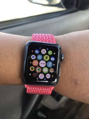 Apple Watch Gen 3 series 3 38mm Space Gray Aluminum MTF0LL/A for Sale in Los Angeles, CA