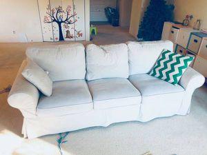 IKEA EKTORP 3.5-seat sofa, Lofallet beige for Sale in Daly City, CA