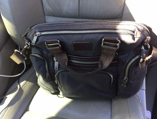 Tumi Briefcase, expandable laptop bag