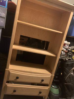 Entertainment center/ Book shelve dresser for Sale in Cohasset, CA