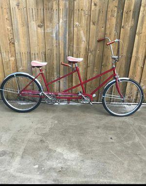 Wester flyer vintage tandem bicycle for Sale in Wilmer, TX