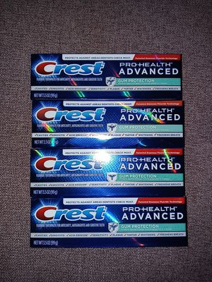 4 Crest Pro Health Advanced Toothpaste for Sale in Florissant, MO