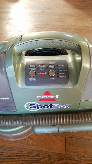 Bissell spotbot rug cleaner. for Sale in Plainfield, IL