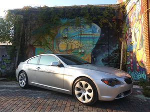 2004 BMW 645CI Sport Package (GORGEOUS) for Sale in St. Petersburg, FL