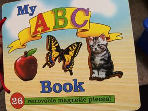 My ABC Book removable magnetic pieces for Sale in Las Vegas, NV