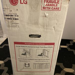 LG Portable Air Conditioner, Model LP1417SHR for Sale in Warren, MI