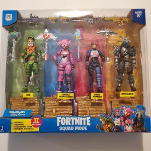 Fortnite squad mode 4 figures for Sale in Las Vegas, NV