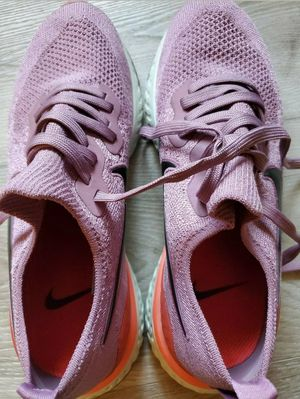 Nike Epic React Flyknit 2 Womens Size 9.5 Running Shoes Pink Cute! for Sale in Carrollton, TX