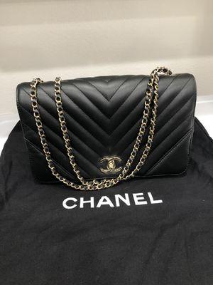 Chanel 17b Chevron Edge Statement Flap Bag for Sale in Long Beach, CA
