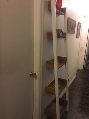Country style furniture ladder shelf rack (newly built) for Sale in Belle Isle, FL