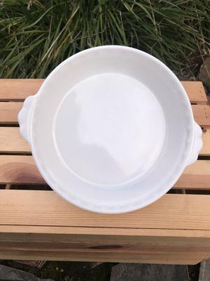 Pyrex Milk Glass Pie Plate for Sale in Riverside, CA