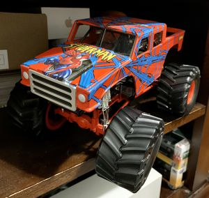 Spider-Man monster jam truck 1:24 die cast metal for Sale in Lake Stevens, WA