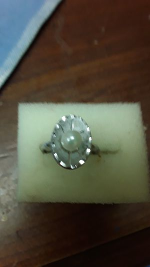 sterling & pearl ring for Sale in Madison, VA
