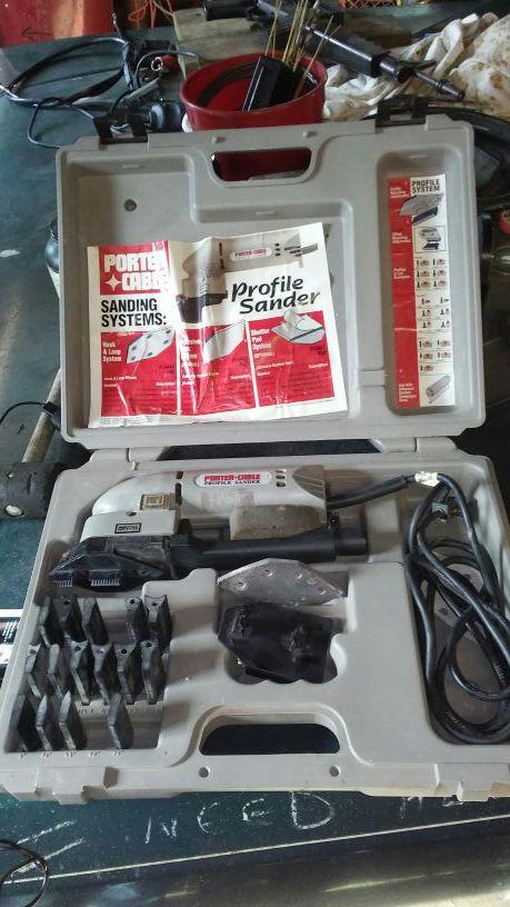 Porter cable profile sander