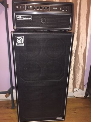 Ampeg SVT Classic Tube Amp +8/10 Cabinet for Sale