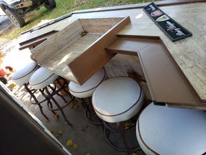 Bar with stools for Sale in Red Oak, TX