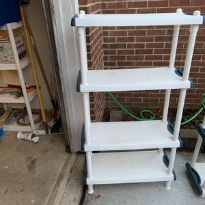 2 Plastic Shelves for Sale in Fairfax, VA