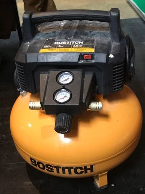 Bostitch 6 Gallon 150 PSI Oil-Free Compressor for Sale in Palos Park, IL