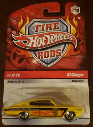 Hot Wheels Fire Rods 67 Charger for Sale in El Paso, TX